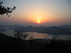 Asahi from Mt. Taihei